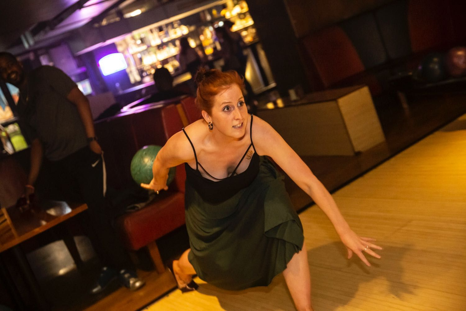 Shake, Rattle & Bowl Retro Vintage Bowling Party Bloomsbury Lanes London